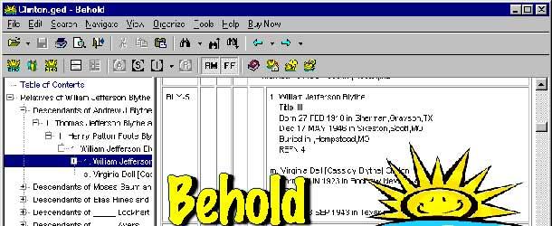 Behold Version 0.97 alpha