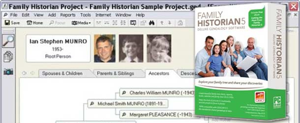 Family Historian 5 Delayed – March, 2012