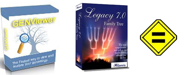 GENViewer, GENMatcher Sale (Legacy Family Tree)