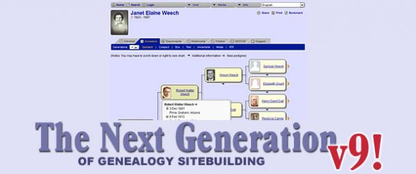 The Next Generation of Genealogy Site Building 9